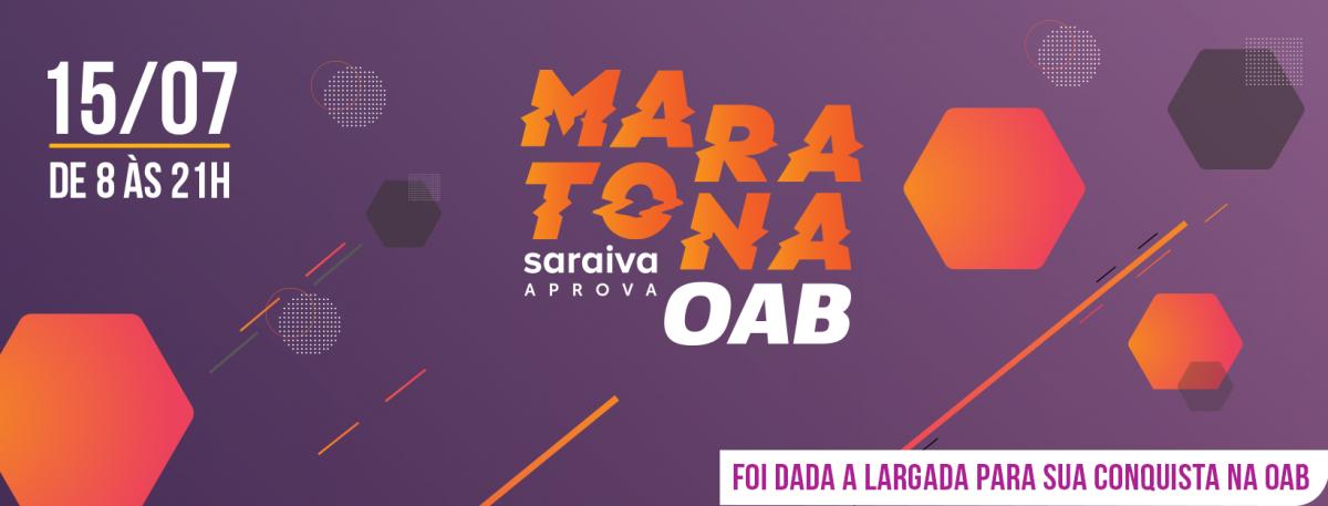 Maratona Saraiva Aprova Exame XXIII