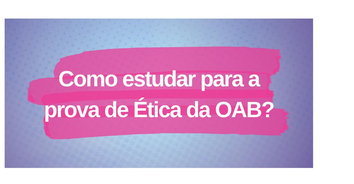 Ética-para-OAB