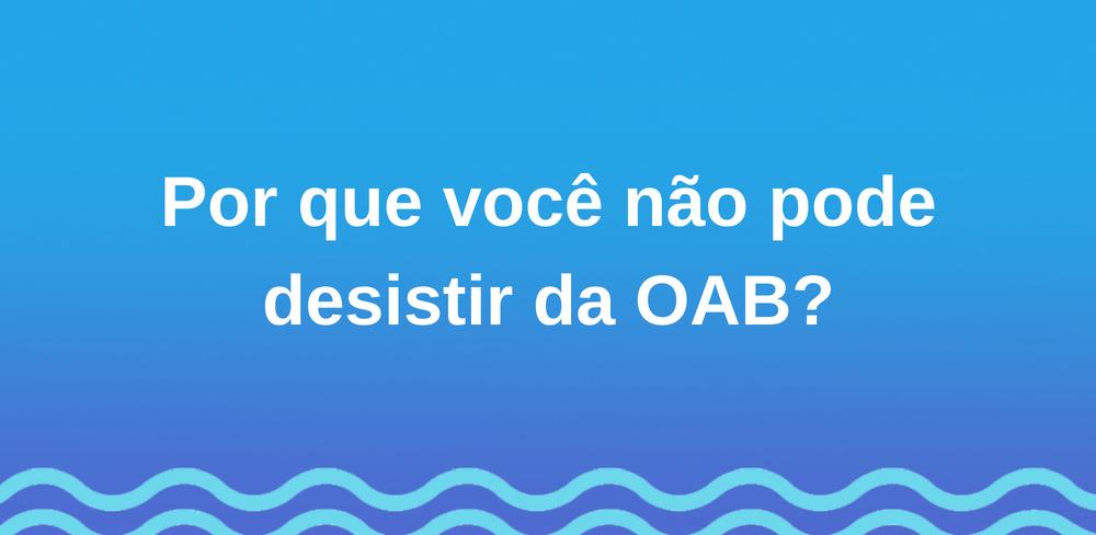 desistir-oab