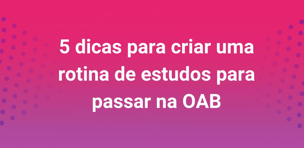 rotina-oab