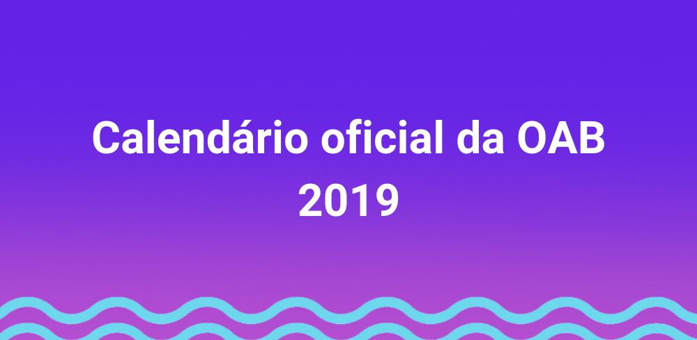 calendário-oab-2019