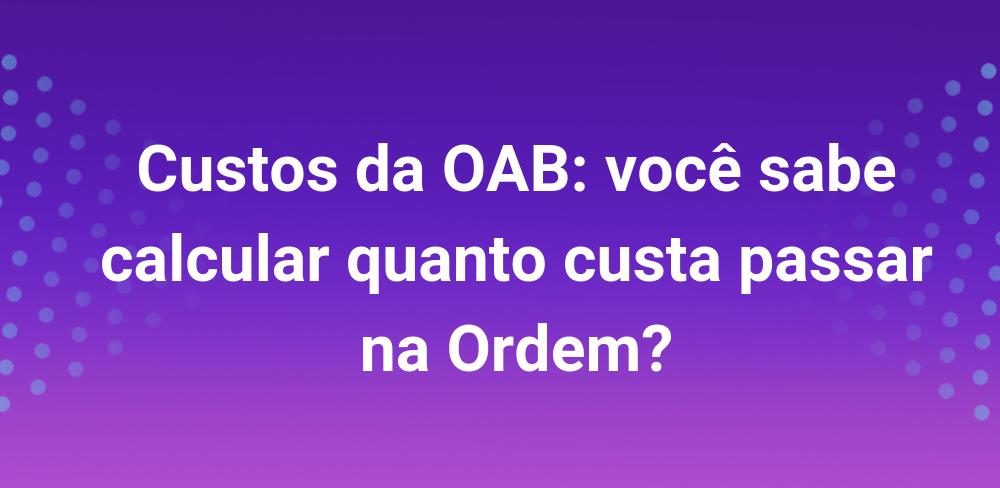 custos-oab